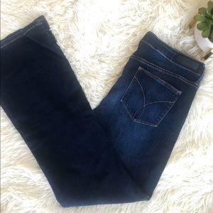Calvin Klein flare jeans